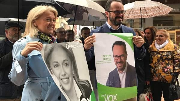 26M.- Ignacio Blanco (Vox): 'Cambiar el rumbo en Asturias solo está de la mano de Vox, somos el sentido común'