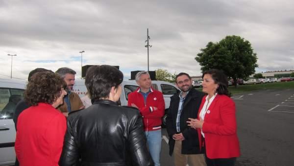 26M.- Concha Andreu (PSOE) Asegura Que 'Vamos A Poner En Marcha Un Cambio' Tras '24 Años De Fraudes Y Mentiras'