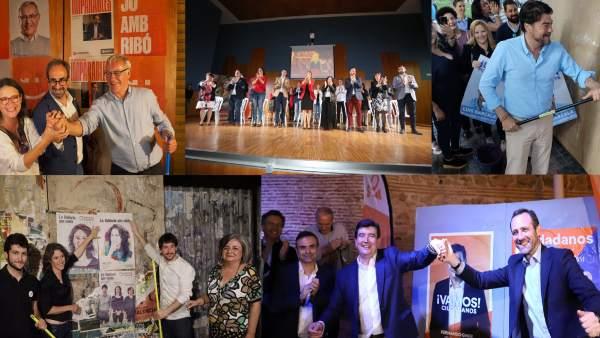 26M.- Los Partidos Dan El Pistoletazo De Salida A La Campaña Con Ilusión, Mirada De Futuro Y 'Hambre De Ganar'
