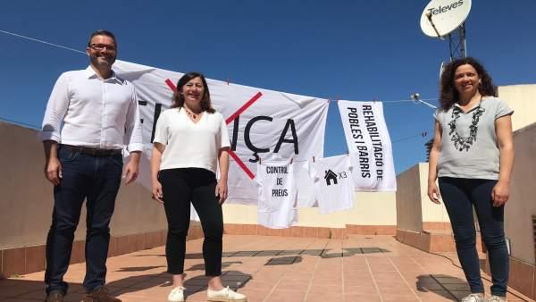 26M.- El PSIB Propone Aumentar A 5.000 Las Viviendas De Gestión Pública Y Fijar Precios Máximos De Alquiler