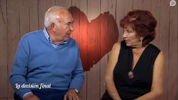 Carmen, en 'First dates'.