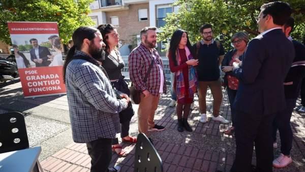Granada.- 26M.- El PSOE se compromete a abrir un espacio de 'coworking' en el antiguo IMFE