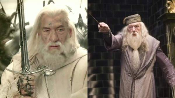Gandalf y Dumbledore