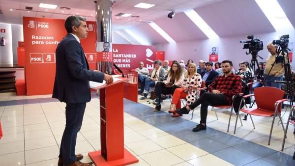 26M.- Zuloaga Dice Que 'La Mejor Encuesta' Fue La Del 28A Y Asegura Que El PSOE Sale A 'Repetir' Esos Resultados