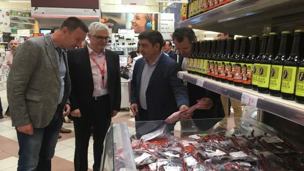 Jaén.- MásJaén.- Los productos Degusta Jaén se promocionan en Linares hasta el 22 de mayo