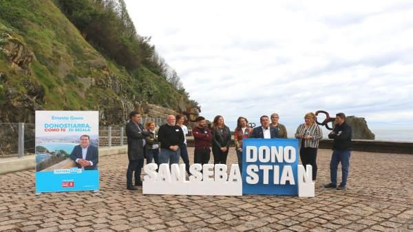 26M.- Gasco (PSE-EE) Propone Un Acuerdo Para 'Salvar' El Bellas Artes De San Sebastián