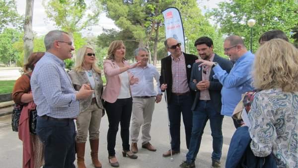 26M.- Pilar Alegría (PSOE) Propone Un Plan 'R-Nueva Zaragoza' Para Mejorar Aceras, Calles Y Parques