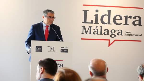 Málaga.- Turismo.- Salado reivindica el 'peso específico' de la Costa del Sol en las acciones de Turismo Andaluz