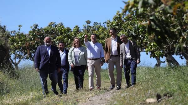 Granada.- Moreno pedirá una reunión 'urgente' al nuevo Gobierno para tratar las canalizaciones de Rules