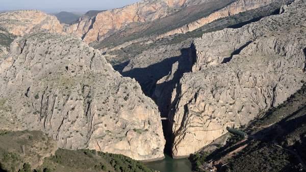 Málaga.- La candidatura del Caminito del Rey como Patrimonio de la Humanidad supera las 2.000 adhesiones en 48 horas