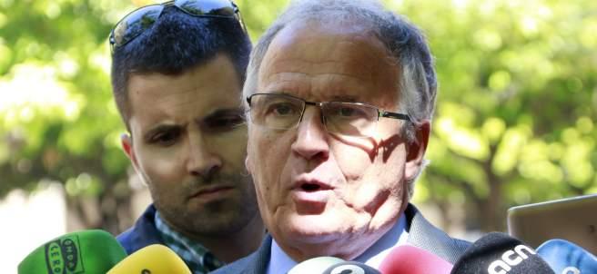 Josep Bou, el candidato del PP a la alcaldía de Barcelona.