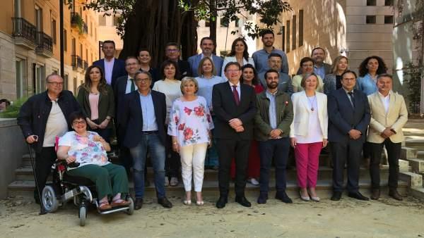 Puig quiere que el nuevo Botànic sea un 'reinicio' más allá del nombre y que haya 'respeto' en Les Corts