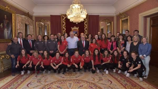 El Ayuntamiento de Pamplona felicita a Osasuna Femenino por su temporada