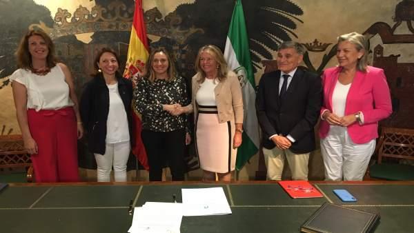 Málaga.-La Junta y el Ayuntamiento de Marbella acuerdan mejorar parte de la carretera que conecta el municipio con Istán