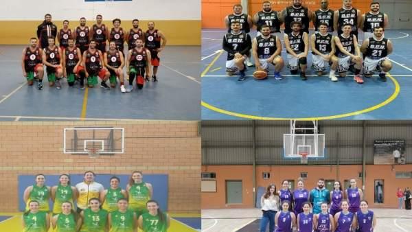 Las finales de Baloncesto del Trofeo Diputación de Cáceres se disputan este sábado en la localidad de Aceituna