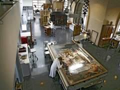 Taller de restauración del Museo del Prado