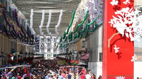 Málaga.- Abierto hasta el 14 de mayo el concurso del cartel de la Feria de Málaga, dotado con 3.600 euros