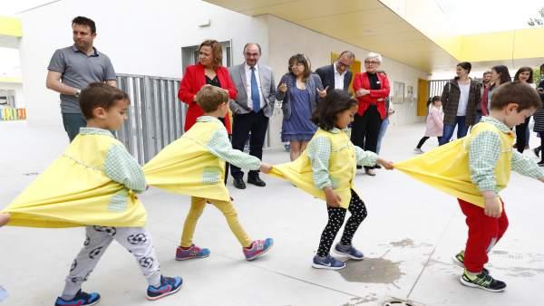 Los colegios de la zona sur de Zaragoza, diseñados para que los alumnos cursen hasta el Bachillerato