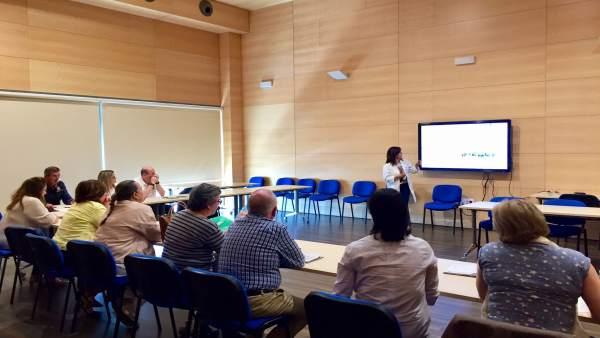 Málaga.- El Área de Gestión Sanitaria Serranía de Málaga celebra nueva reunión de la Comisión de Participación Ciudadana