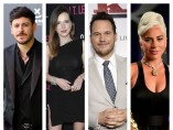 Cepeda, Bella Thorne, Chris Pratt y Lady Gaga
