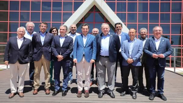 Málaga.- Moreno afirma que la Junta ya trabaja en los proyectos para paliar el déficit hídrico de la Axarquía