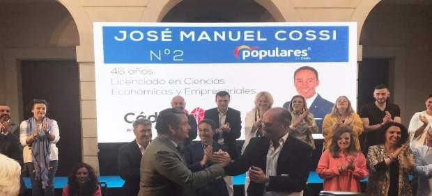Cádiz.-26M.- Sanz pide a los gaditanos 'que apuesten por los buenos gobiernos que representa el PP'