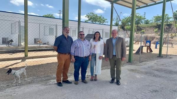 Jaén.- El alcalde valora la 'renovación integral' del Centro de Protección Animal Municipal