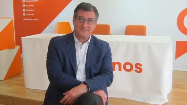 El diputado de Ciudadanos Ignacio Prendes.