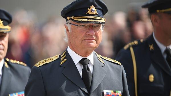 El rey Carlos XVI Gustavo de Suecia