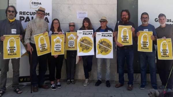 26M.- Crida Per Palma Empieza La Campaña Electoral Censurando Los Precios 'Inaccesibles' Del Alquiler En La Ciudad