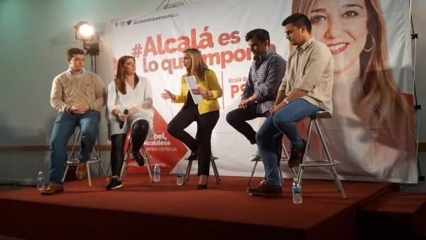 Sevilla.- 26M.- El PSOE aspira a revalidar la Alcaldía de Alcalá con más espacios deportivos y un 'anillo cultural'