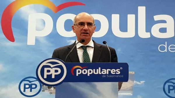 26M.- Javier Iglesias Confía En Que Los Resultados En Cyl Sirvan De 'Dique De Contención' Contra Las Políticas De Sánche