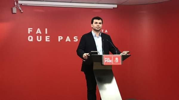 26M.- Gonzalo Caballero asegura que el PSdeG está en condiciones de avanzar en votos y ediles en las 7 ciudades gallegas