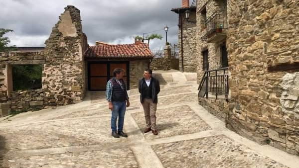 El Gobierno de La Rioja apoya los proyectos prioritarios de Laguna y Hornillos de Cameros