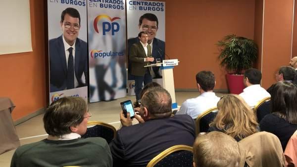 26M.- Mañueco Quiere Ser 'El Presidente Del Empleo' Y Advierte De Que 'Para Que Las Cosas Sucedan, Se Deben Impulsar'