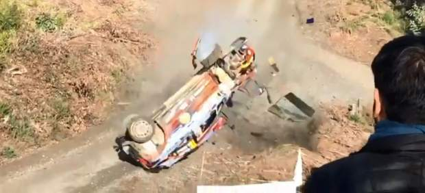Accidente Thierry Neuville