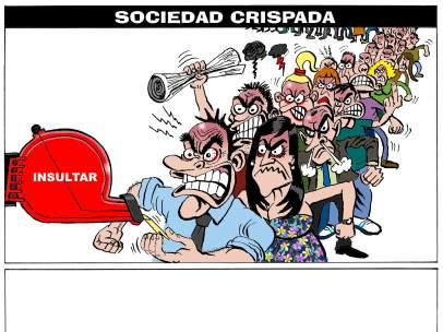 Sociedad crispada