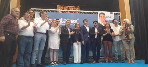 Cádiz.- 26M.- Sanz defiende que en Andalucía ha quedado 'demostrado' que el cambio político 'merece la pena'