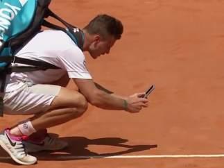 Marton Fucsovics pierde con polémica en Roma
