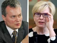 Candidatos en las presidenciales lituanas