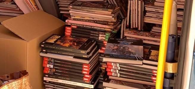 Sucesos.- Tres detenidos en Girona por robar 1.680 cómics exclusivos para venderlos online