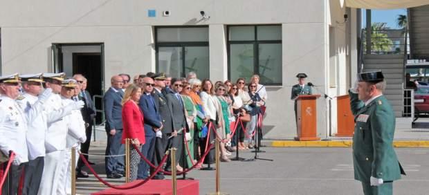 Cádiz.- Mestre ve 'imprescindible' la Guardia Civil en 'una provincia peculiar' en el 175º aniversario de su creación