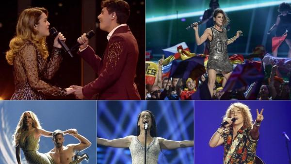 Representantes de España en Eurovisión