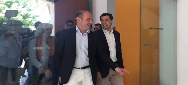 Juanma Moreno dice que con el nuevo hospital de Cádiz 'se parte de menos cero' porque 'no se ha hecho nada'