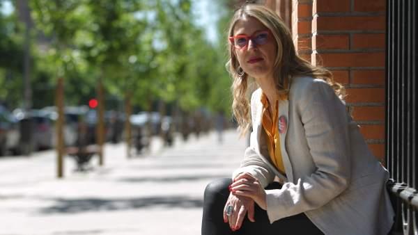 María Eugenia Rodríguez Palop, candidata de Unidas Podemos al Parlamento Europeo.