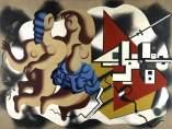 Les danseuses aux clés, 1930. Fernand Léger