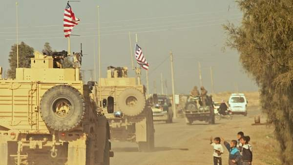 Tropas americanas en Siria