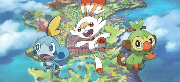 'Pokémon Espada / Escudo'
