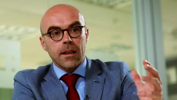 El cabeza de lista de Vox al Parlamento Europeo, Jorge Buxadé.