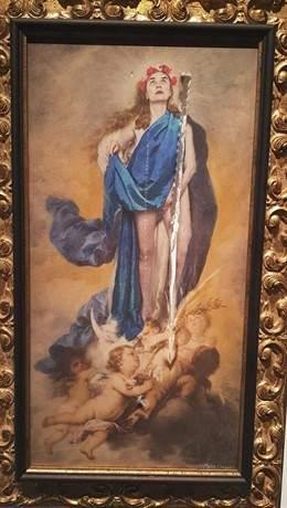 Resultado de imagen para Virgen tocándose los genitales.